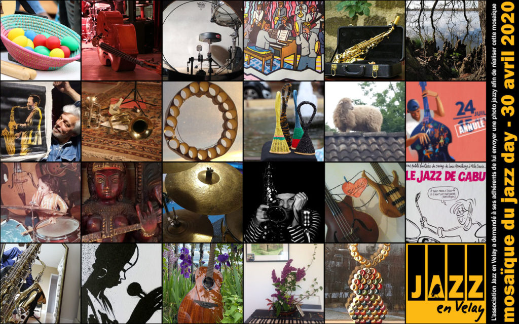 jazz day mosaïque jazz en velay adhérents adhérentes